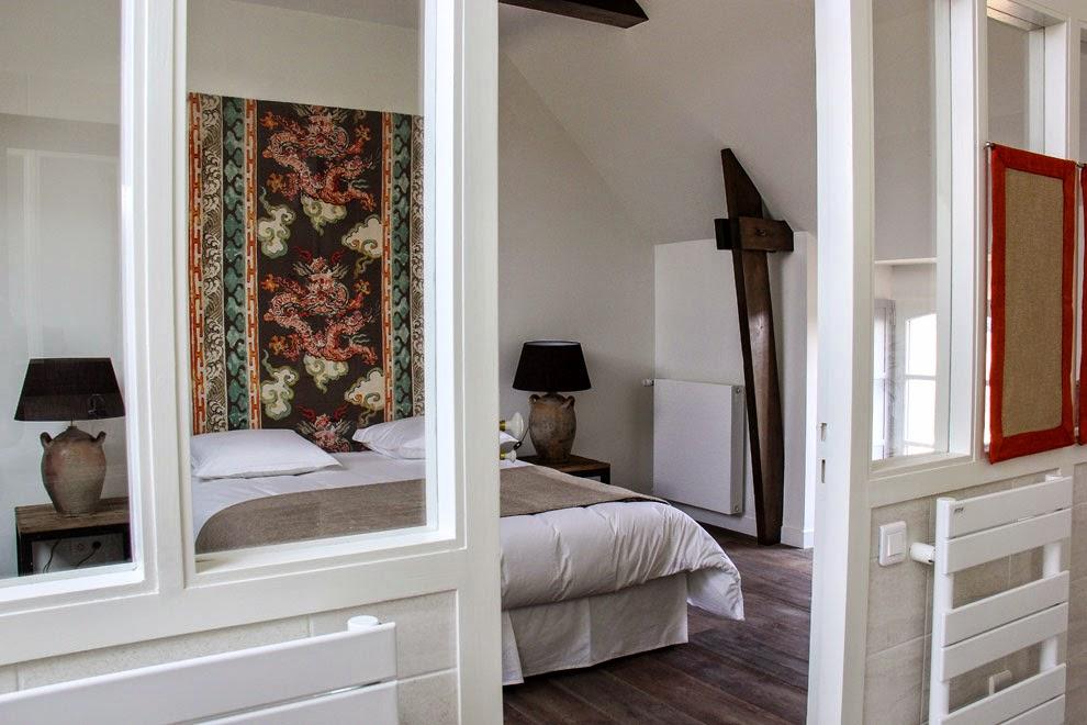 Chambre 20 m² avec lit de 160 (étage) - 20 m² double bedroom with Queen Size bed