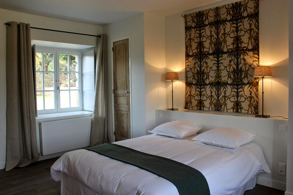 Chambre 19 m² avec lit 160 (rdc) - 19 m² double bedroom with a Queen Size bed